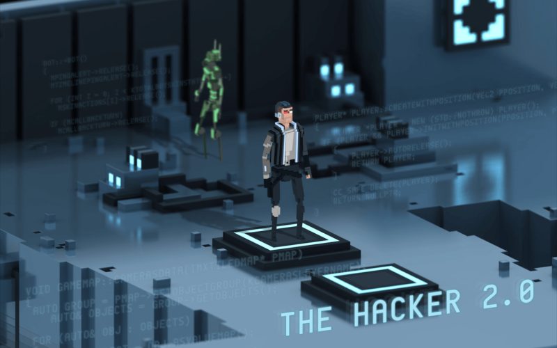 The Hacker 2.0 — Deus Ex GO для бедных