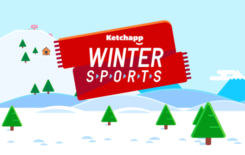 Ketchapp Winter Sports — сюда бы еще бобслей