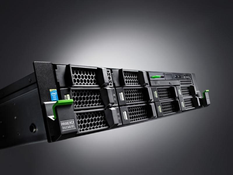 Серверный узел fujitsu cx2550 m1