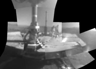 Марсоход Opportunity сделал первое селфи