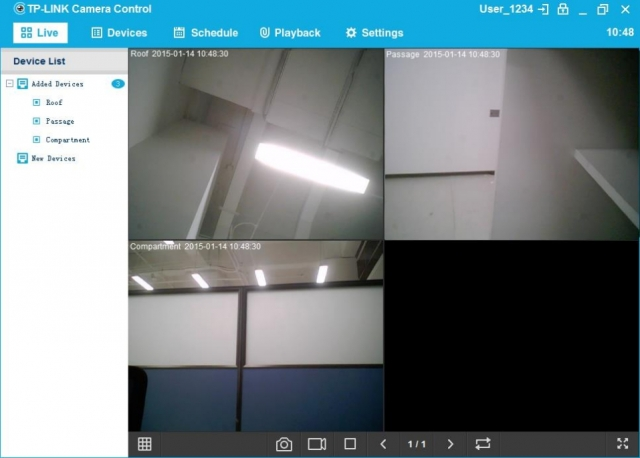 Обзор камеры наблюдения TP-Link NC450