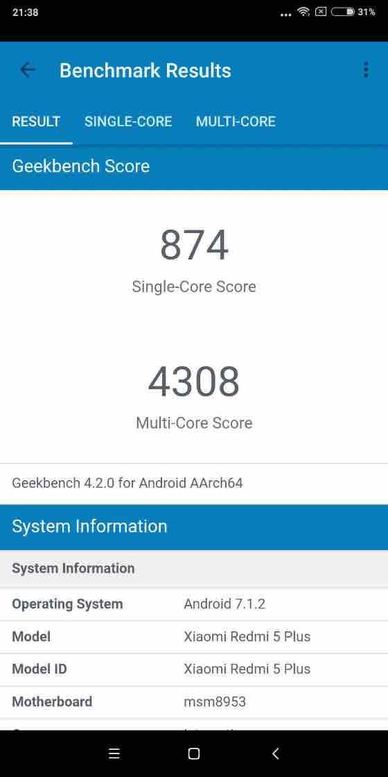 Geekbench – GPU