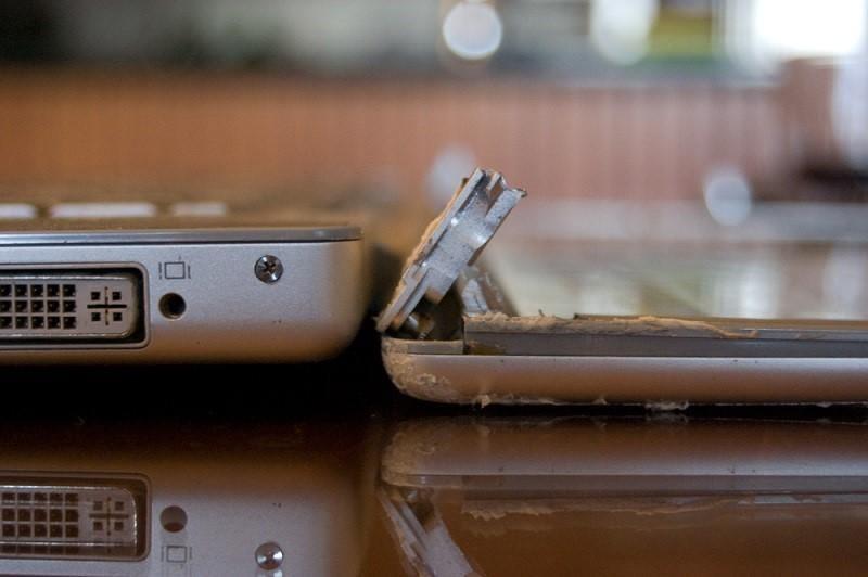 Сколько стоит ремонт поврежденного MacBook